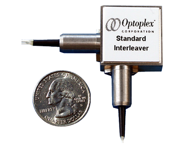 Optoplex Optical Interleaver / Optical De-Interleaver - symmetric interleaver and asymmetric interleaver