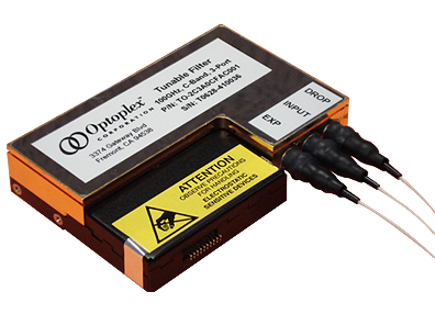 Optoplex 3 Port Tunable Filter